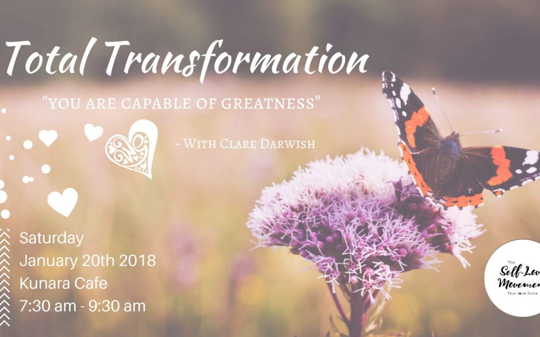 Total Transformation ~ You are Capable of Greatness // Sunshine Coast