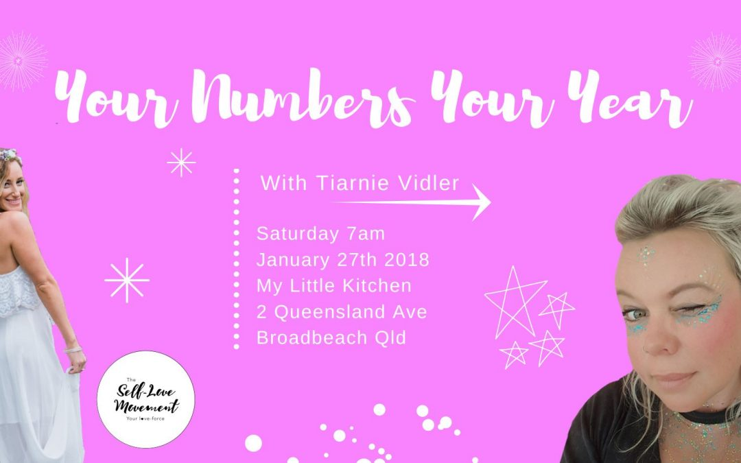 Your Numbers Your Year // Gold Coast